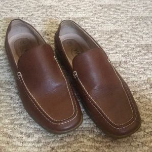 Brown slip on shoes 💜
